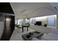 Desain Interior Rumah Minimalis Perpaduan Hitam Putih