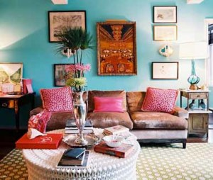 Cerah Dan Warna Warni Desain Ruang Tamu Minimalis Beautifully Colored Living Room 300x254 Ruang Tamu Cantik Minimalis Warna Warni Cerah