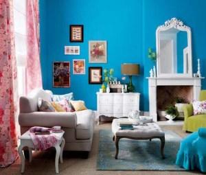Cerah Dan Warna Warni Desain Ruang Tamu Minimalis Bright Blue Living Room 300x255 Ruang Tamu Cantik Minimalis Warna Warni Cerah