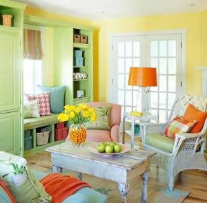 Cerah Dan Warna Warni Desain Ruang Tamu Minimalis Cozy Living Room In A Bunch Of Colors 300x295 Ruang Tamu Cantik Minimalis Warna Warni Cerah