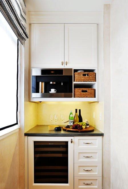 desain dapur minimalis sempit desain rumah