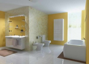 Fancy Yellow Bathroom Pictures Help You Design Your Bathroom 300x215 25+ Kamar Mandi Minimalis Untuk Rumah Mewah