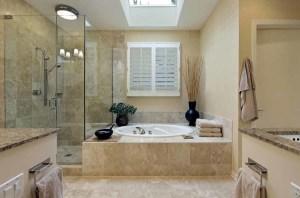Desain Interior Kamar Mandi Minimalis Untuk Rumah Mewah