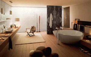 Desain Interior Kamar Mandi Mewah Untuk Rumah MInimalis