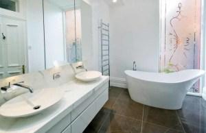 White Bathroom Pictures Help You Design Your Bathroom 300x194 25+ Kamar Mandi Minimalis Untuk Rumah Mewah