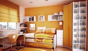 Desain Interior Kamar Tidur Kecil Mungil Minimalis