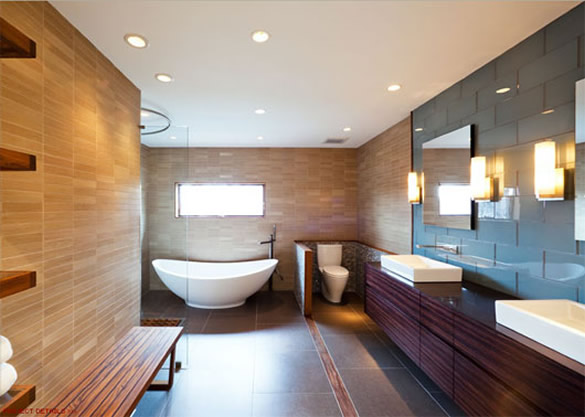 kamar mandi mewah 25+ Kamar Mandi Minimalis Untuk Rumah Mewah