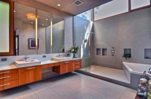 kamar mandi modern 300x198 25+ Kamar Mandi Minimalis Untuk Rumah Mewah
