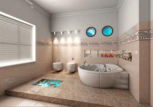 kamar mandi unik 300x210 25+ Kamar Mandi Minimalis Untuk Rumah Mewah