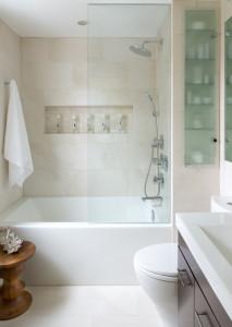 contemporary bathroom 213x300 20 Desain Kamar Mandi Dengan Bathtub Terbaru