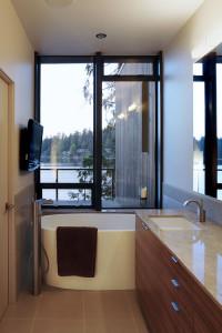 modern bathroom2 200x300 20 Desain Kamar Mandi Dengan Bathtub Terbaru