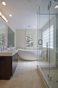 modern bathroom3 200x300 20 Desain Kamar Mandi Dengan Bathtub Terbaru