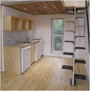 Desain Tangga Rumah Minimalis Kreatif 2 296x300 25+ Desain Tangga Untuk Interior Rumah Minimalis