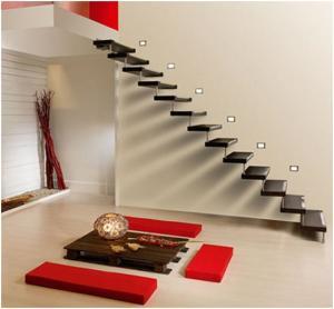 Desain Tangga Rumah Minimalis Kreatif 3 300x278 25+ Desain Tangga Untuk Interior Rumah Minimalis