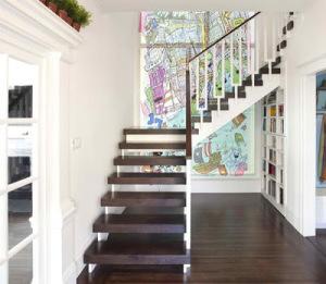 Desain Tangga Rumah Mewah 8 300x261 25+ Desain Tangga Untuk Interior Rumah Minimalis