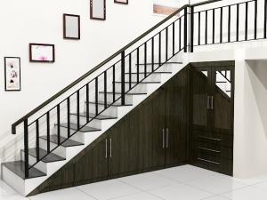 Tangga Model L 300x225 25+ Desain Tangga Untuk Interior Rumah Minimalis