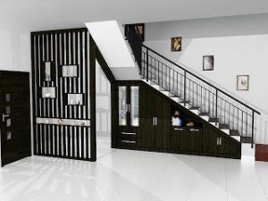 desain tangga rumah 300x225 25+ Desain Tangga Untuk Interior Rumah Minimalis